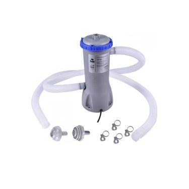 Bomba Filtrante Filtro para Piscina 3028 L/H 110v com Refil e Mangueira