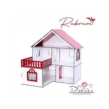 Imagem de Casa de Bonecas Escala Polly Modelo July RUBRUM - Darama