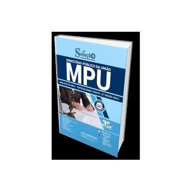 Imagem de Apostila MPU 2021 - Analista do MPU - Direito (2ª Edição)