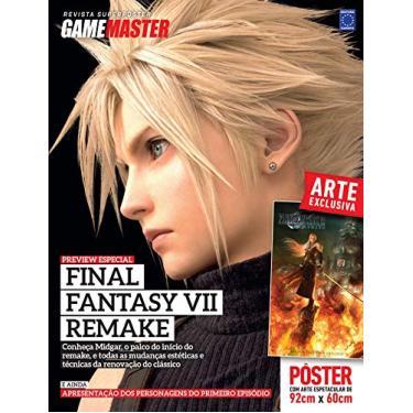 Revista Superpôster Final Fantasy VII Remake Preview