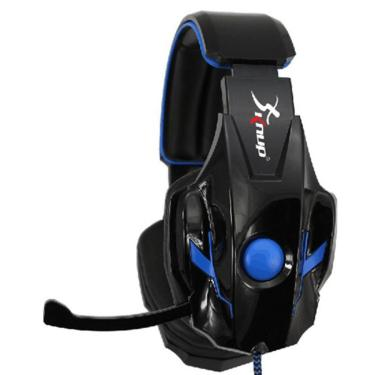 Fone Gamer Headphone Usb Pc/Ps3/Ps4 Azul Knup