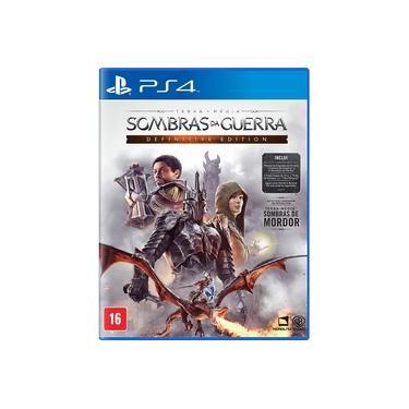 Game Sombras da Guerra Definitive - PS4 - dublado em português