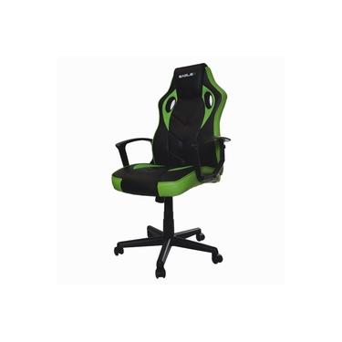 Cadeira Gamer Escritório EagleX S1 Reclinável Com Ajuste de Altura e Modo Balanço - Verde