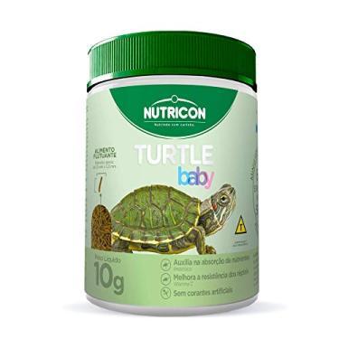 Turtle Baby 10gr Nutricon Para Tartaruga Aquática Filhotes