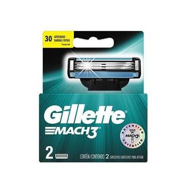Imagem de Carga Gillette Mach3 Com 2 Unidades