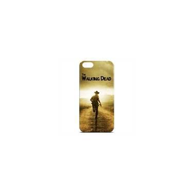 Capa Para Iphone 5c De Plástico - The Walking Dead   Rick