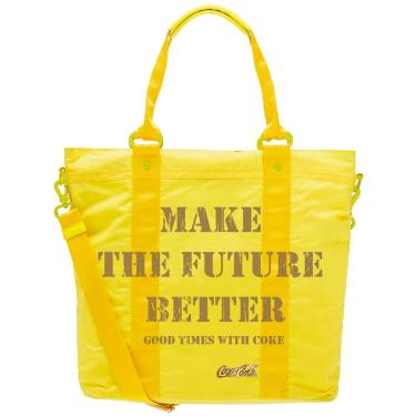 Bolsa Totebag Coca Cola Positive Day Amarelo 811045P PCF Global