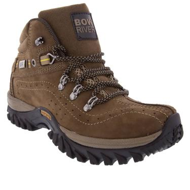 Bota Bow River Outdoor Adventure Couro Oliva