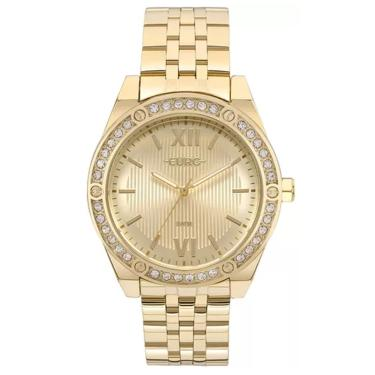 8b9bd8f240e Lux GoldenComprar · Relógio Feminino Euro Analógico EU2035YNO 4D - Dourado