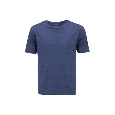 469593a76a Camiseta Oxer Básica - Masculina - Azul Esc Cinza Esc Oxer