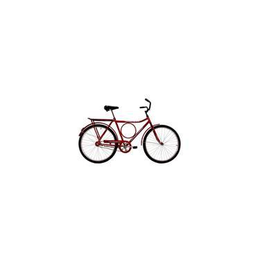 Imagem de Bicicleta Aro 26 Masculina Dalannio Bike Potencia Freio no Pé Vermelha