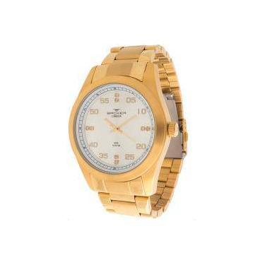 014d91c3885 Relógio Masculino Backer 6307175m Si Lubeck Todo Aço