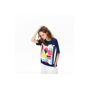 Camiseta Lacoste Boxy Fit