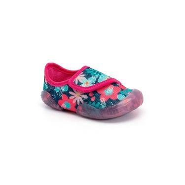 Sapato Infantil Klin New Comfort 048 Marinho/Pink
