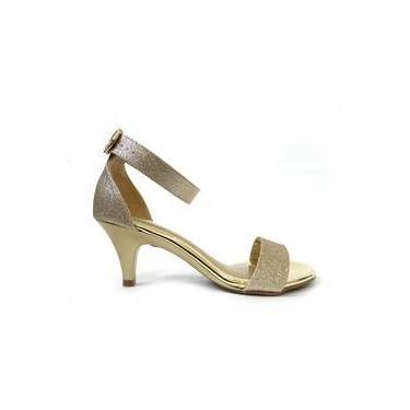 09496b7d6 Sandália R$ 29 ou mais Salto Fino Shoptime   Moda e Acessórios ...