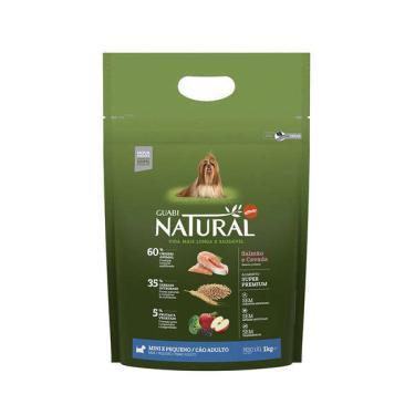 Ração Affinity Guabi Natural Salmão e Cevada para Cães Adultos Raças Mini e Pequena - 1 Kg