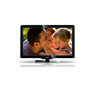 "Imagem de TV 40"" LCD Full HD - 40PFL3606D/78 - c/ Digital Crystal Clear, Conversor Digital Integrado (DTV), Entrada PC, 2 HDMI c/ Easylink e Entrada USB - Philips"
