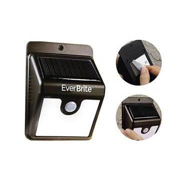 Lâmpada Solar de Parede com Sensor de Presença