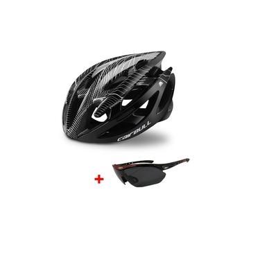 Imagem de Capacete Ciclismo Bike Mtb Speed Cairbull + Óculos Cores