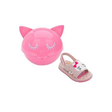 Sandália Infantil Grendene Kids Barbie Fashion Cat 22150