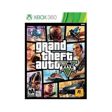 Jogo Lacrado Novo Grand Theft Auto V Gta 5 Para Xbox 360