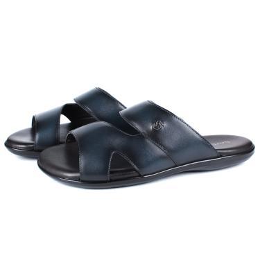 Sandália em Couro Látego Elba Blue Savelli  masculino