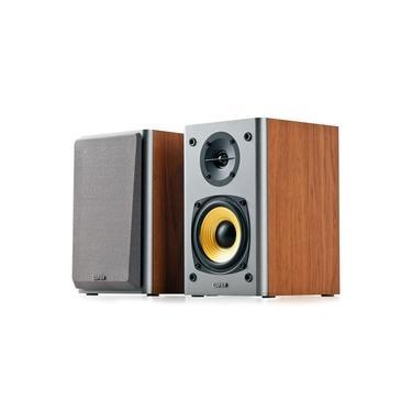 Monitor de Áudio Edifier R1000T4 Referencia Home Estúdio 24w Rms Bivolt - Madeira