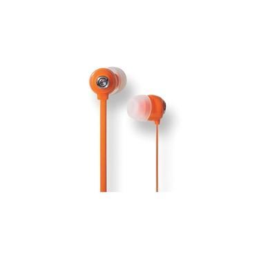 Fone De Ouvido Youts In-ear Candy Colors Laranja