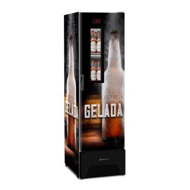 Refrigerador Cervejeira  Metalfrio 324 Litros VN28FP Optima Frost Free, Adesivado