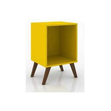 Rack Movelbento Retro 40x57x37cm Amarelo