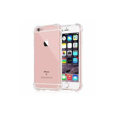 Capa Iphone 7/8 Plus Acrílico Anti Impacto Tpu Transparente