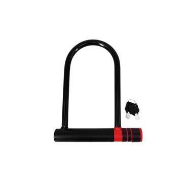 Cadeado Com Chave - U-Lock 240*180Mm Bi083 -Multilaser