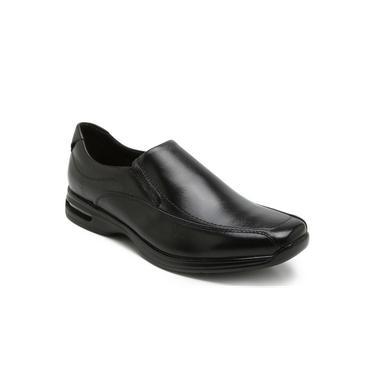 Sapato em Couro Democrata Linha Air Spot - Preto