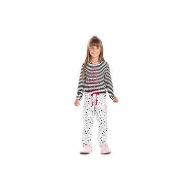 Pijama Infantil Menina Mon Petit Coeur Bela Notte-2