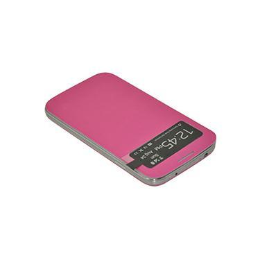 Capa para Celular para Galaxy S4 em Acrílico Flip Cover com S View Rosa - Driftin