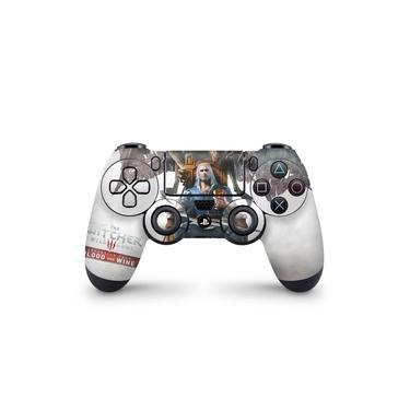Skin Adesivo para PS4 Controle - The Witcher 3: Wild Hunt - Blood And Wine