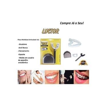 Imagem de Protetor Bucal Bruxismo Orifício para Circulação de Saliva e Respiração Luctor Vamp 5em1