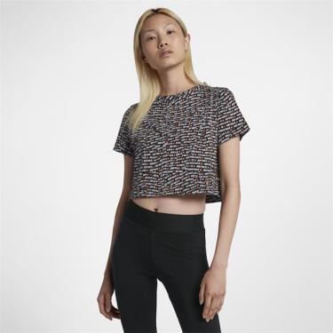 252e442d9 Camiseta Nike Sportswear Crop Feminina