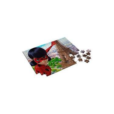 Imagem de Quebra Cabeça Miraculous Ladybug 165 Peças