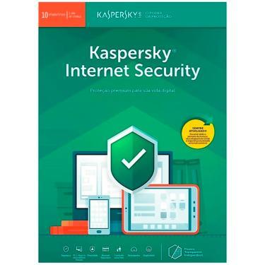 Kaspersky Internet Security Multidispositivos - Licença de 1 ano - para 10 Dispositivos - Versão Dow