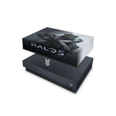 Capa Anti Poeira para Xbox One X - Halo 5: Guardians #B