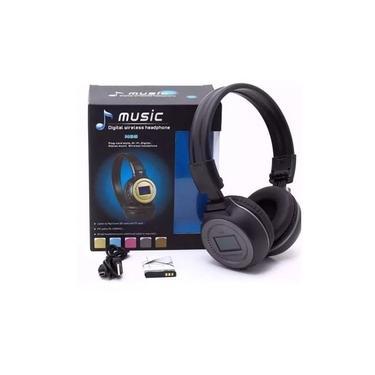 Fone de Ouvido N65 Headfone - Funciona Cartão Memória SD, Rádio FM, Entrada P2 - Bluetooth