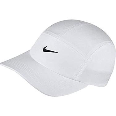 Boné Nike aerobil Branco - Running - Corrida caminhada