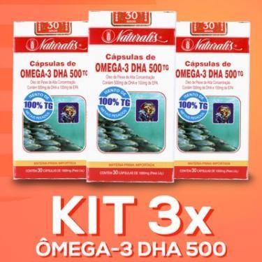 dc556acc348 Suplementos e Complementos Alimentares Naturalis Omega 3 - Óleo de ...