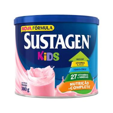 Sustagen Kids Morango - 380g