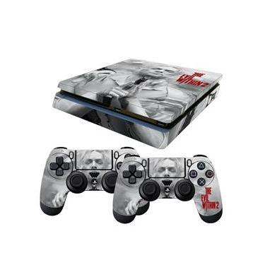 Skin PS4 Slim The Evil Within 2