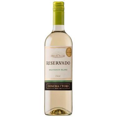 Vinho Branco Chileno Sauvignon Blanc Concha Y Toro Reservado  750 ml