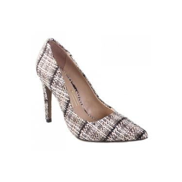 Sapato Scarpin Uza Tweed J14G505B0001