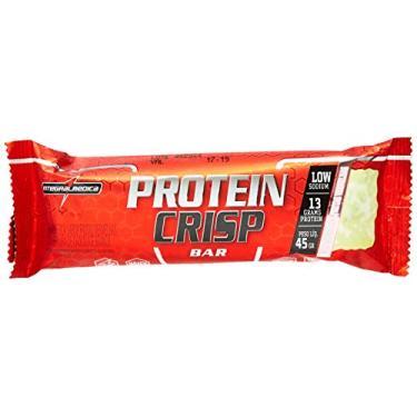 Protein Crisp Bar - 12 Unidades 45g Cheesecake Frutas Vermelhas, IntegralMedica