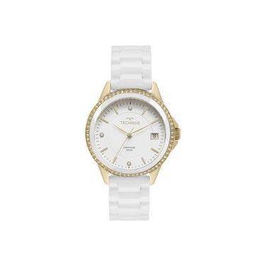 6288e317b24d7 Relógio de Pulso Feminino Technos Cerâmica Shoptime